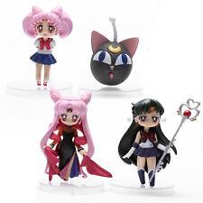 Sailor moon Anime Manga MINI Figuren 4er Set H:6-8cm Neu