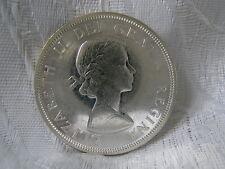 Moneta CANADA 1 dollari in argento 800 – er 1864-1964