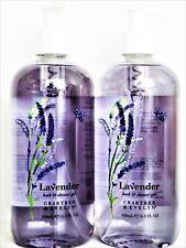 Crabtree & Evelyn LAVENDER Bath & Shower Gel, JUMBO 16.9 fl. oz/500 mL, NEW x 2