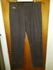 Mens stockerpoint  mens Leather pants size 40x36 unhemmed