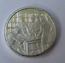 Franklin Mint Sterling Mini-Ingot: 1833 First National Temperance Convention
