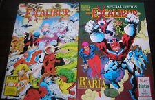 Marvel comics - 2 Speciali Excalibur - Play Extra