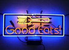 """New Good Eats Restaurant Open Light Lamp Beer Neon Sign 24""""x16"""""""