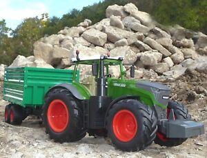"""RC Traktor FENDT 1050 Vario mit ANHÄNGER in 1:16 """"2,4 GHz TOP QUALITÄT"""" 405035-1"""