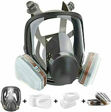 15 In1 Facepiece Full Face Gas Mask Filter Respirator Painting For 6800 Reusable