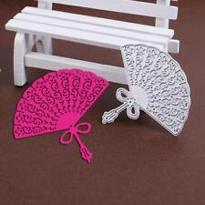 Fan Metal DIY Cutting Dies Stencil Scrapbook Album Paper Card Embossing Craft