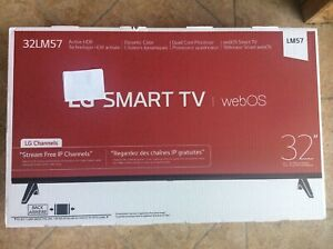LG 32 Inch Class HD 720p Smart LED TV - 32LM57 - Brand New - Sealed awesome!