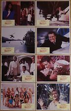 OCTOPUSSY (1983) - original US Lobby Cards set of 8, James Bond 007, Roger Moore