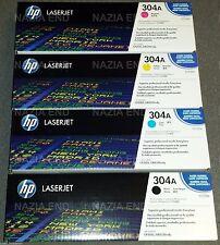 Le cartucce toner HP 304 A CC533A CP2025 CM2320 NO Labels SIGILLATO BOX SET COMPLETO DI 4