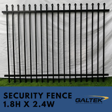Security Fencing / Steel Fence 1.8x2.4m Residential and Commercial