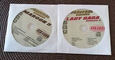2 CDG DISCS KARAOKE MUSIC OF 2000'S HITS MAROON 5 & LADY GAGA FTX 1021/1020 CD+G
