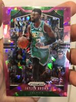 2019-20 Panini Prizm Jaylen Brown Pink Ice #40 Boston Celtics