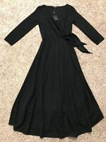 NWT $110 MASSIMO DUTTI BLACK DRESS SIZE XS