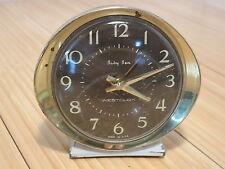 Vtg Westclox Baby Ben Wind-Up Alarm Clock for Parts or Repair