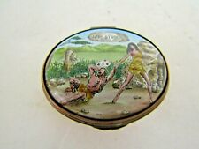 Halcyon Days Enamels Love Struck Trinket Box