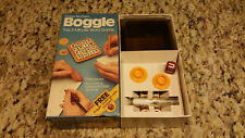 Vintage 1983 BOGGLE Hidden Word Game w/ Challenge CUBE #01 - 1983 - Never Used!