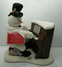 Hallmark Jingle Pals 2005 SNOWMAN PIANO PLAYING Singing Moves Lights See Video!!