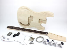 Pit Bull Guitars GPB-4B Electric Bass Guitar Kit (Ash body)