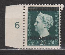 Nr. 353 Indonesia Indonesie nr 3 MNH PF randstrook 1948 Wilhelmina