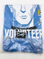 2016 San Diego Comic Con SDCC Star Trek Spock 50th Anniversary Volunteer Shirt