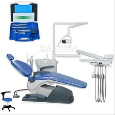 Dental Unit Chair Hard leather Computer Controlled DC Motor FDA CE+ Hanpiece Kit