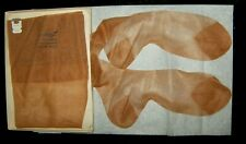 Lot of 3 Sheer Vintage Mixed  Hanes 415 Flat Knit RHT Stockings Sz. 10-10 1/2