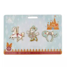 Disney Minnie Mouse Main Attraction King Arthur Carousel Pin Set Limited