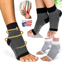 Plantar Fasciitis Compression Socks Women&Men Arch Support For Heel Pain Relief