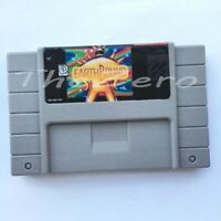 Earthbound USA Version Video Game for 16 bit Super Game Card Cartridge Card for