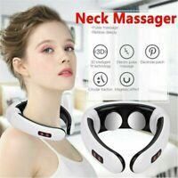 Electric Cervical Neck Massager Body Shoulder Relax Massage Relieve Pain
