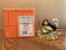 """Enesco Friends Of The Feather """"Spirit Of Dependability"""" Girl With Geese Spirit"""