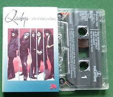Quireboys A Bit of What You Fancy inc Roses & Rings + Cassette Tape - TESTED
