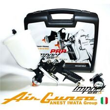 Air Gunsa AZ3 HTE-S IMPACT 1.3 mm + Manometro Impact Controller 2 - In Valigetta
