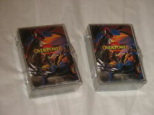 Lot 158 Marvel OverPower Card Game cards 1995 by Fleer