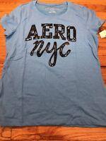 Women's Size XL Aeropostale NYC Shirt Cap Sleeve