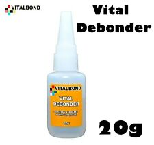 Vitalbond DE BONDER CIANO colla adesiva adeguata debonder 20g Bottle vitale vb16
