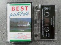 BEST OF IRISH FOLK - VARIOUS ARTISTS -  ALBUM - CASSETTE TAPE