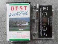 BEST OF IRISH FOLK - VARIOUS ARTISTS -  ALBUM - CASSETTE TAPE