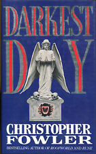 Darkest Day by Christopher Fowler-UK First Edition/DJ-1993