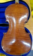 A Good Quality 3/4 Violin German Origin Approx 80 Years Old