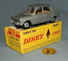 Dinky Toys France Originale 1/43 réf 1407 : Simca 1100 Berline
