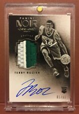Terry Rozier 2015-16 NOIR BLACK & WHITE ROOKIE PATCH AUTO RC 1/99! FIRST! HOT!🔥