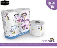 Unicorn Toilet Paper 4 Rolls 800 sheet or Unicorn Kitchen Towel 2 Rolls 300