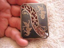 Vintage Siam Silver Dancer Pin