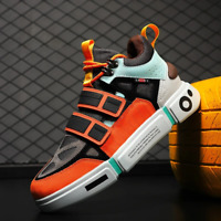 New Men Breathable Shoes Fashion Casual Comfortable Couple High help Sneakers Te