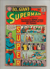 Superman #193 - 80 Page Giant! - (Grade 3.5) 1967