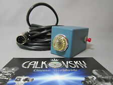 CINEMA POWER MOTOR ON/OFF SWITCHWITH 11FT CABLE, for 16mm MOVIE CAMERA