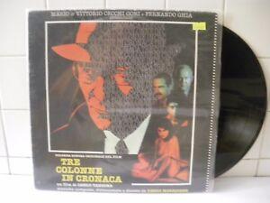 Ennio Morricone  Tre colonne in cronaca 1990  LP 33 Giri (BXB58)