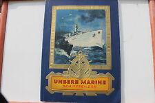7346 JASMATZI Zigaretten Album UNSERE MARINE SCHIFFSBILDER 1934 trade card book