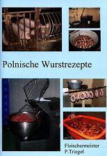 Hausschlachten 100 Polnisch-Schlesische Wurstrezepte Broschüre